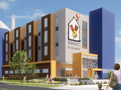 Help us build the DAX WING at Peoria's NEW Ronald McDonald House!